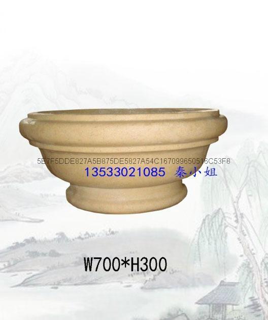 砂岩花盆 4
