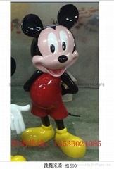 玻璃钢米老鼠雕塑