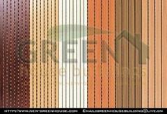 绿建居木石防火复合实木吸音槽板