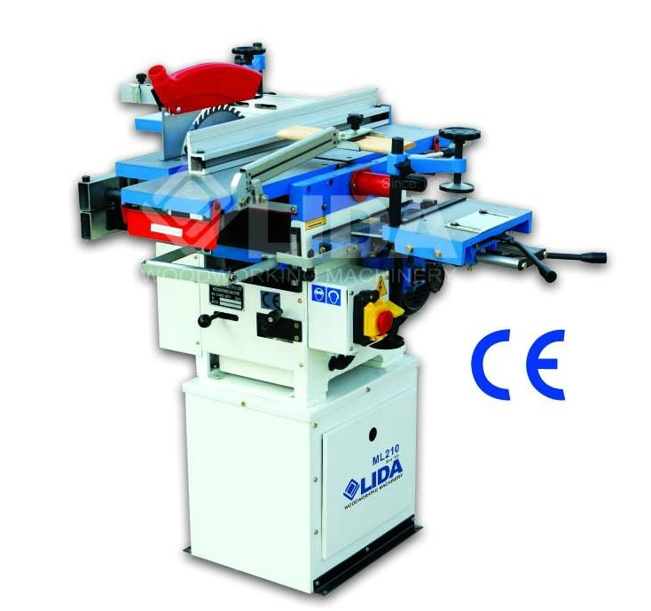 Combined universal woodworking machinery 1