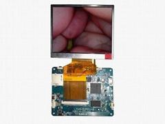 内窥镜3.5寸拍照录像存储模块