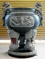 石雕寺廟香爐