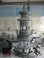 石雕寺廟香爐 2