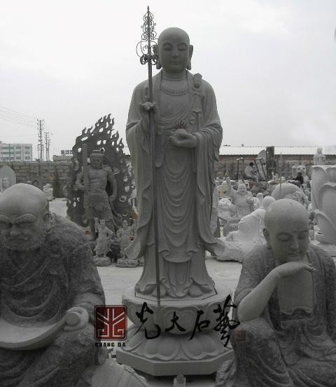 寺廟石雕地藏王菩薩 1