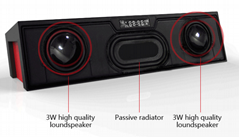 Bluetooth speaker with A