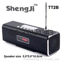 Arlarm clock  FM Card  Speaker mini speaker