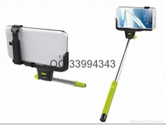 Wireless Bluetooth Shutter Selfie Monopod Holder for IOS Android mobile phone