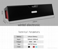 Bluetooth speaker with Alarm clock  FM Card speaker BTSDY019AC   2