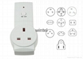 remote control switches for lights and fans for UK Plug K09 1+1