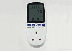 Digital Energy Watt Meter Socket with Electricity Meter UK Plug