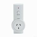Smart Switch Socket set Wall Remote Control AU Plug,K09-1+1 4