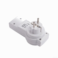 Wall switch and socket Remote Control Socket ,K09-1+1, for EU 4