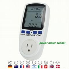 美国制式插头的电能表的插座,P
