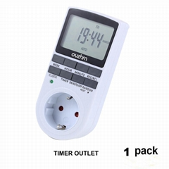7 day programmable timer for Europe Plug 16A 3680W