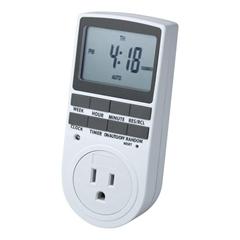 Programmable Digital Switch Timer Socket US Plug(1pack)