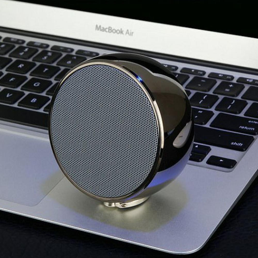 BS02 metal shell, handheld portable bluetooth speaker 5
