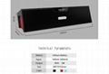 Bluetooth speaker with Alarm clock  FM Card speaker BTSDY019AC   8