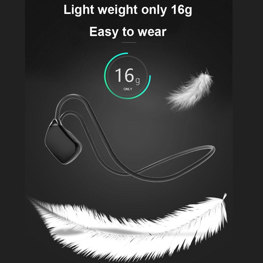 Bone Conduction Headphones Bluetooth ouzhrn V5.1 -on ear 2
