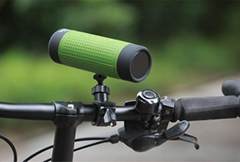 Outdoor waterproof Bluetooth speaker for bicycle with LED light