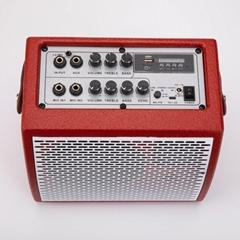 HiFi portable karaoke outdoor electric guitar speaker ouzhrn K5