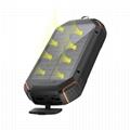 High CapacityWaterproof Phone Charger Wireless Solar Power Bank 20000mAh