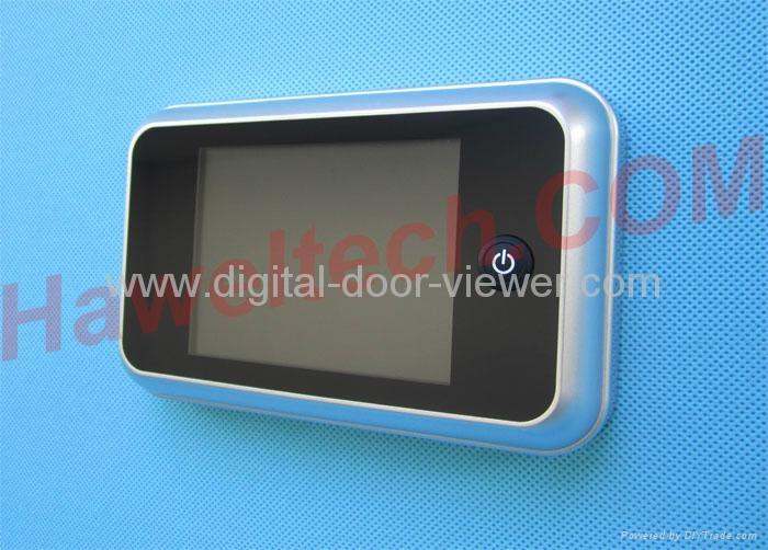 Hawel Factory supplier digital peephole door viewer 2