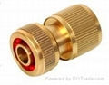 quick connect brass garden hose fittings 2
