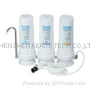 三级台式净水器