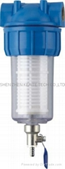 Washing machine water purifier