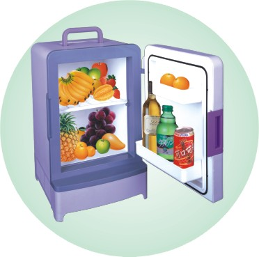 手提式多功能电子冷热箱 3