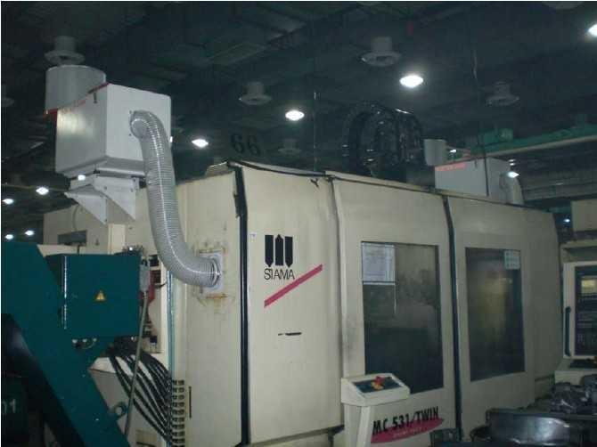 磨床离心式三层过滤高效过滤油雾收集器 1