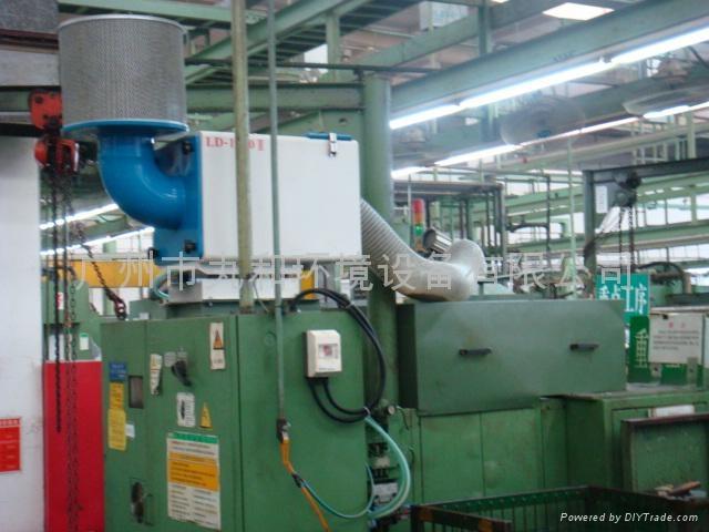磨床离心式三层过滤高效过滤油雾收集器 4