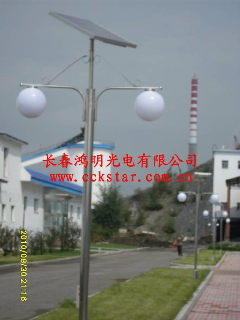 瀋陽太陽能路燈庭院燈 2
