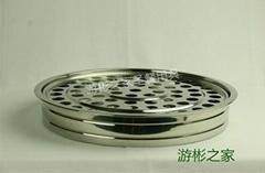 72孔圣餐杯盘