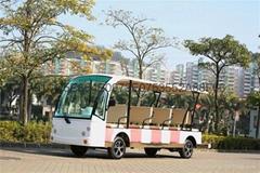 重慶度假村校園酒店接待專用14座電動觀光車