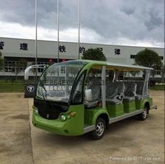 重庆旅游景区观光14座燃油旅游观光游览车销售