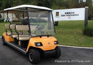 重慶房地產看房高爾夫觀光車廠家銷售 1