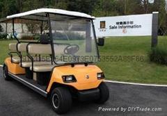 重庆房地产看房高尔夫观光车厂家销售