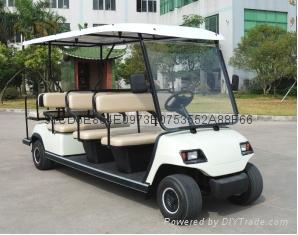重慶房地產看房高爾夫觀光車廠家銷售 4