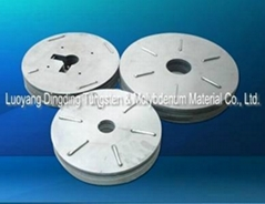 Molybdenum cover plate