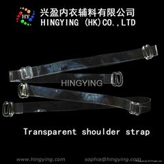 Transparent shoulder str