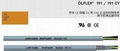 德国缆普认证电缆-OLFLEX 191/191CY