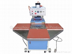LK-25 Four Stations Heat Press Machine hot sale rotary plane heat press machine