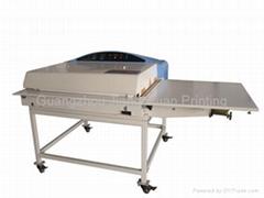 LK-22B Drum Belt Type Bronzing Machine sublimation heat embossing machine