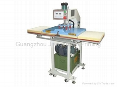 LK-7E Hydraulic Double Stations Heat Press Machine hydraulic hot press machine