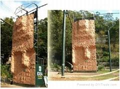 極限運動攀岩牆設施