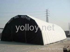 inflatable spray booth paint booth for car repair
