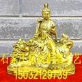 文殊普賢銅雕像生產廠家  文殊普賢銅佛像報價 3