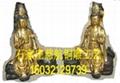 文殊普賢銅雕像生產廠家  文殊普賢銅佛像報價 4