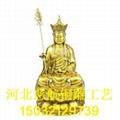 銅地藏王雕像生產廠家  銅地藏